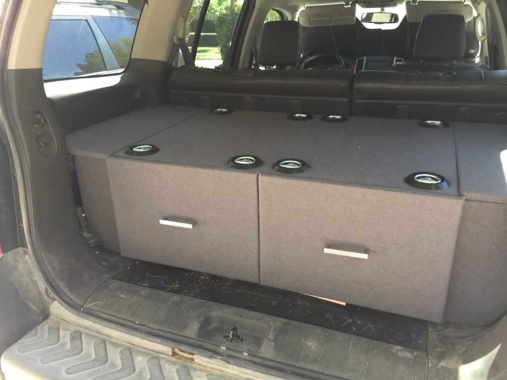 My Rear Cargo Drawer Build Second Generation Nissan